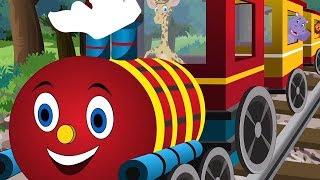 Janvaron Ki Rail   जानवरों की रेल   Hindi Nursery Rhyme   Kids Song   Kids TV India