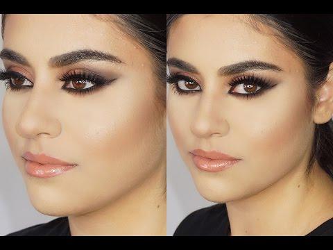 Highlight & Contour On A Client + Arab Smokey Eye video