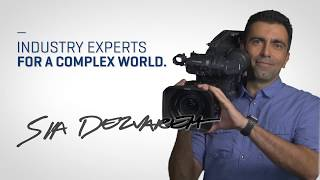 Industry Experts for a Complex World - Sia Dezvareh, Instructor, TV and Video Production