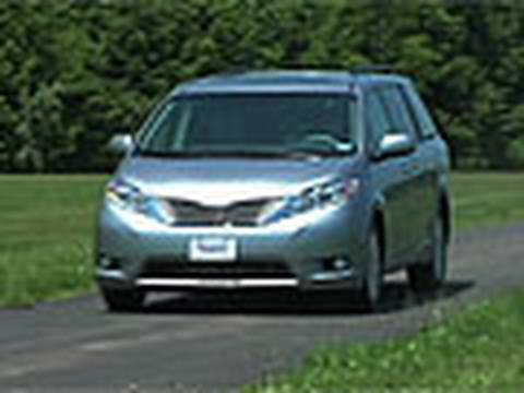 Toyota Sienna: Consumer Reports 2012 Top Pick Family Hauler