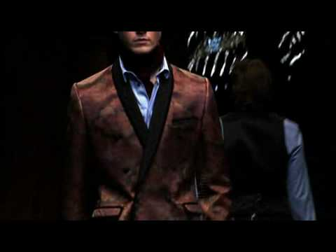 D&G Fall/Winter 2009-10 Menswear Collection Full Show