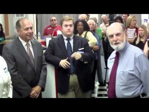 Acting Gov. Earl Ray Tomblin visits Panhandle