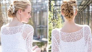 DOBI Hair Tutorial - Wedding Updo - Romantische Brautfrisur, Martin zeigt wie