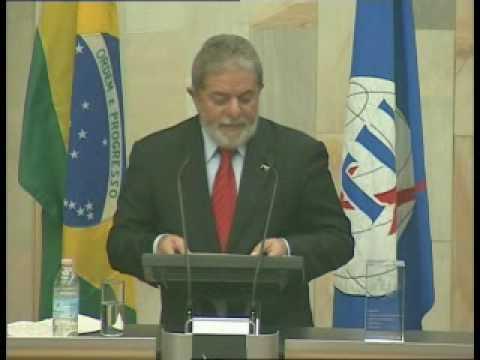 WTISD 2009: Laureate H.E. President Lula da Silva, Brazil