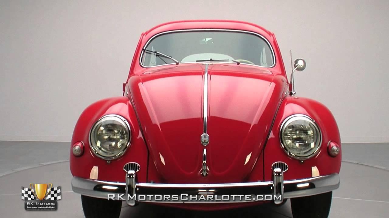 Volkswagen Beetle Ratings >> 134106 / 1956 Volkswagen Type 1 Beetle - YouTube
