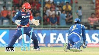 IPL 9 DD v MI: Delhi beat Mumbai Indians by 10 runs | Full Report