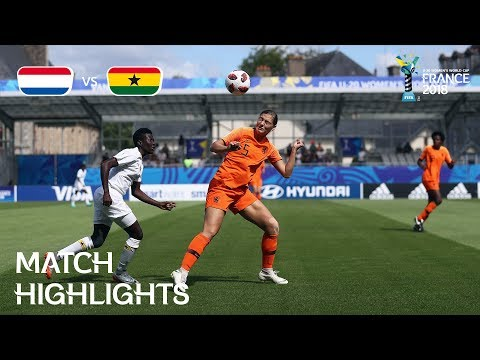 Netherlands v. Ghana - FIFA U-20 Women's World Cup France 2018 - Match 10