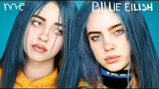 Billie Eilish Transformation Makeup Tutorial