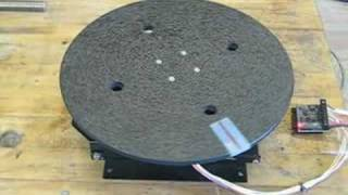 G251 GeckoDrive Rotary Table Test