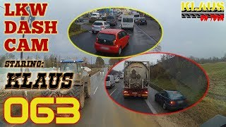 LKW DASHCAM K [063] ► LICENSE to HONK ► Let's Drive LKW mit KLAUS
