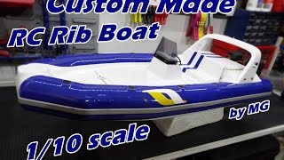 CVP - My New Custom Made RC Rib Boat by MG