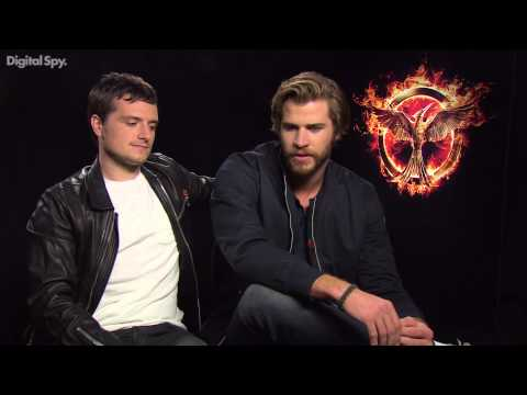 Josh Hutcherson & Liam Hemsworth on Mockingjay & missing each other