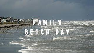 Family Beach Day - Galveston Beach