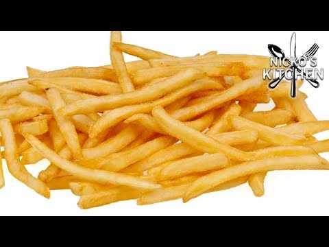 McDONALDS FRENCH FRIES - VIDEO RECIPE