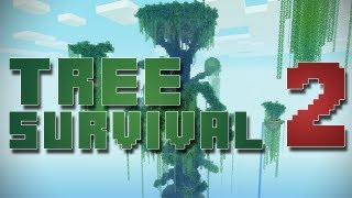 Minecraft Map Playthroughs - Ultimate Tree Survival [Ep2] - Sneaky Zombies!