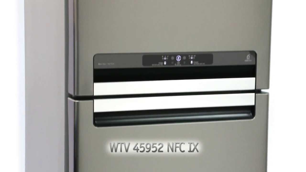 Whirlpool Fridge Freezer Wtv 45952 Nfc Ix Youtube