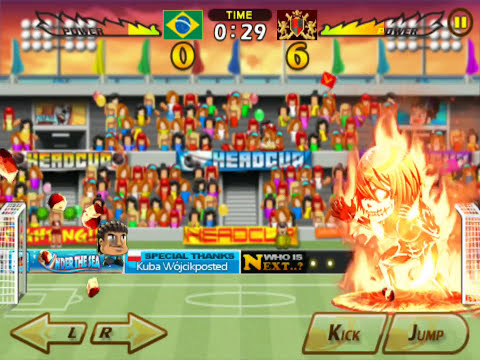 HEAD SOCCER - PLUTO GAMEPLAY