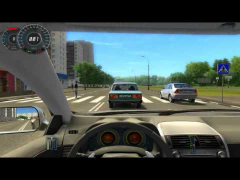 PC  City Car Driving Simulator With Steering Wheel