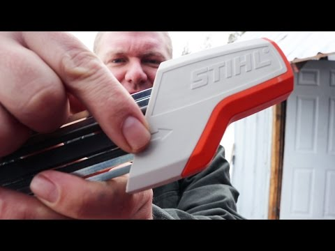 STUPID-EASY Chainsaw Sharpener! (Ladies. Kids. Everyone will LOVE IT!)