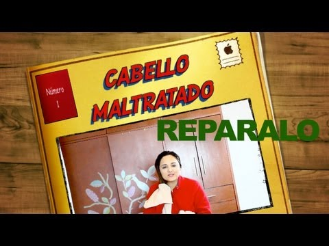 BYE CABELLO DEBIL y DAñADO/ TIPS FOR DAMAGED HAIR
