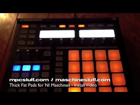 Native Instruments Maschine Thick Fat Pads - NI Install MPCstuff.com