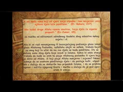 Tretman onoga ko psuje Allaha, vjeru i Poslanika