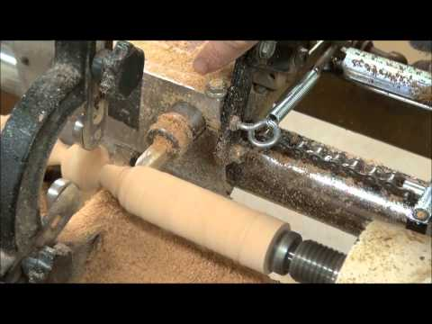 Vega Duplicator Wood Lathe Demonstration