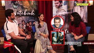 Pranutan Bahl-Zaheer Iqbal EXCLUSIVE Interview: No-Holds-Barred On Salman Khan, Nepotism & Notebook