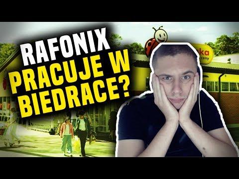Rafonix Pracuje W Biedronce?