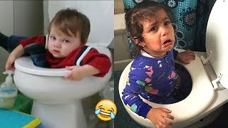 TRY NOT TO LAUGH Challenge - Funny Kids Fails Vines and Videos Compilation