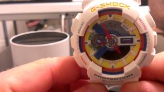 Dee and Ricky Casio G-Shock Watch Review GA111DR-7A Limited Edition - White &