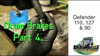 Land Rover Drum Brake Overhaul  Part 4.   Wheel Cylinder Overhaul