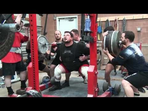POWERLIFTING: Squat Training Image 1