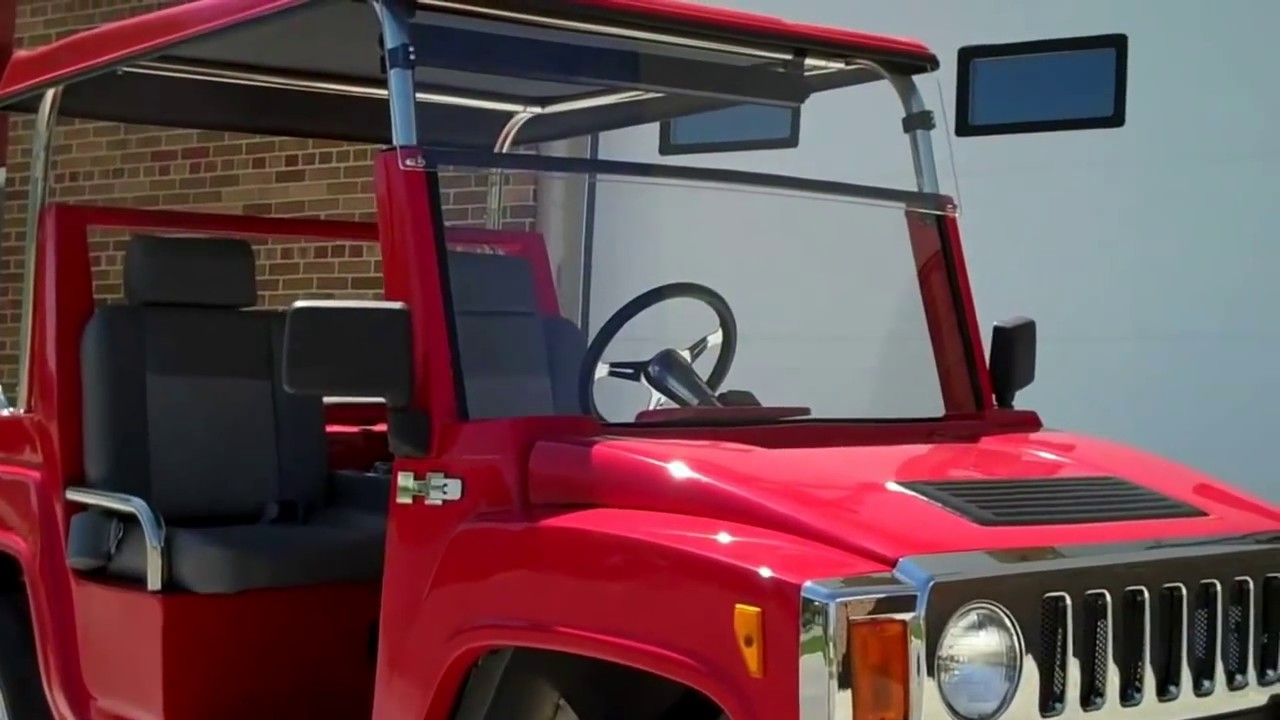 New Hummer H3 Electric Golf Carts Youtube