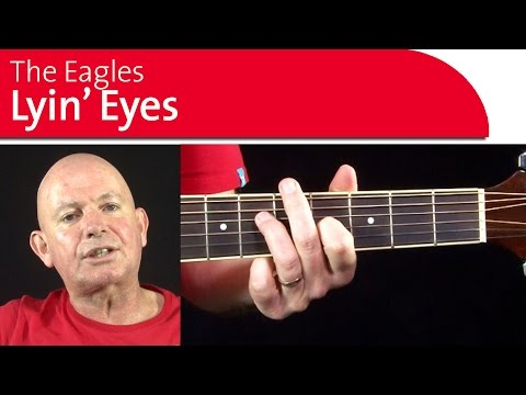 Lying Eyes Eagles Guit...