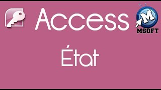 4 - | Access | État | Msoft | (Darija)
