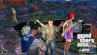 GTA 5 LSPDFR 0.3.1 - EPiSODE 26 - LET'S BE COPS - MILITARY PATROL (GTA 5 PC POLICE)
