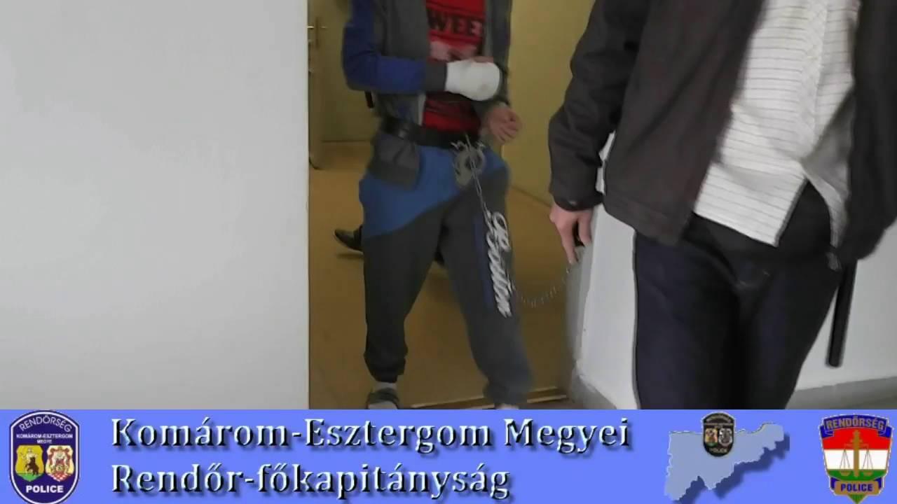Eszméletlenre vert egy ismeretlen férfit, majd kifosztotta - videó