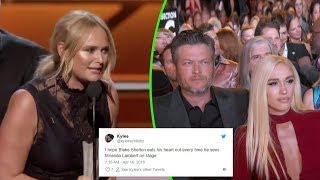 Download Lagu Broken Heart: Miranda Lambert mention Blake Shelton In Her ACM Awards Acceptance Speech Gratis STAFABAND