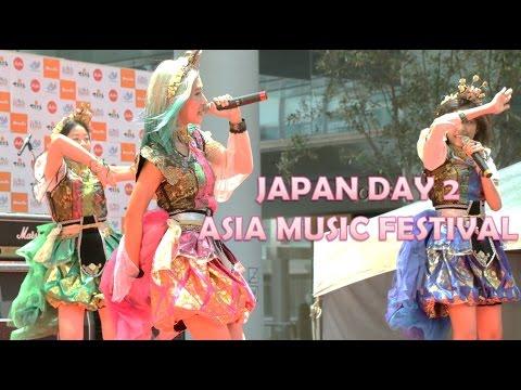 JAPAN DAY 2: Asia Music Festival, Birthday Surprise | Naokitty's Vlog