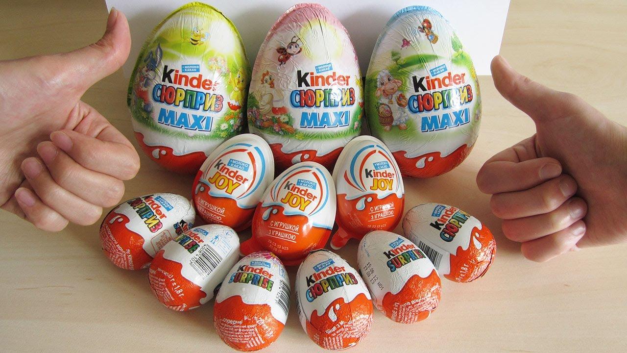 Epic 12 Kinder Surprise eggs