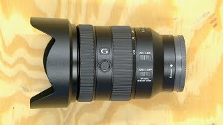 Sony FE 24-105 f/4 G Unboxing & Review
