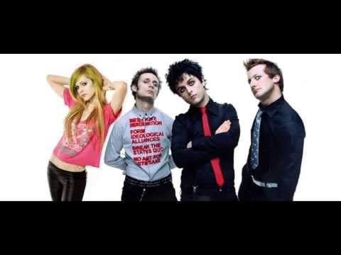 Avril Lavigne vs Green Day - Homecoming Smile (mashup)