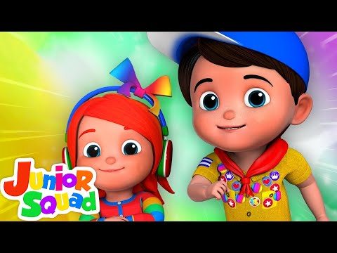Junior Squad Non Stop | Popular Nursery Rhymes | Kids Shows And Cartoons For Children