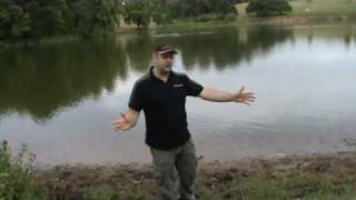 Water guide to tench at Dudmaston Big Pool (2010)