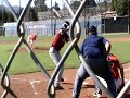 COREY SIMS vs MATT TROUPE High School Baseball 2011