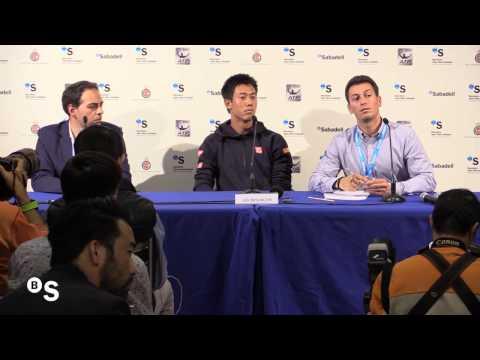 Rueda de prensa de Kei Nishikori - BANCO SABADELL