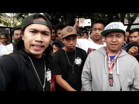 Laglagan Rap Battle League - K-Ram Vs Cast ( MABUHAY CITY PALIPARAN )