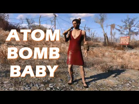 The Five Stars - Atom Bomb Baby Fallout 4 Gameplay Trailer