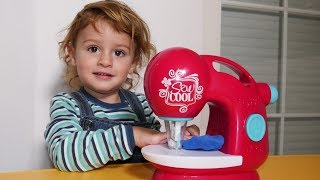 Sewing Machine Song +More Nursery Rhymes & Kids Songs - LETSGOMARTIN